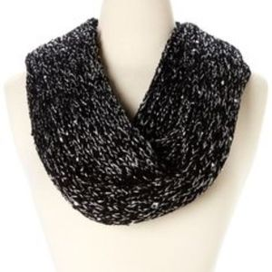 Betsey Johnson Infinity Scarf with Sequins NWT